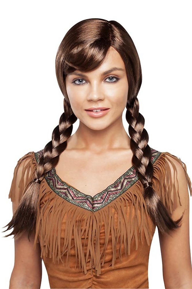Brown Double Braided Wig (Brown Braided Wig)