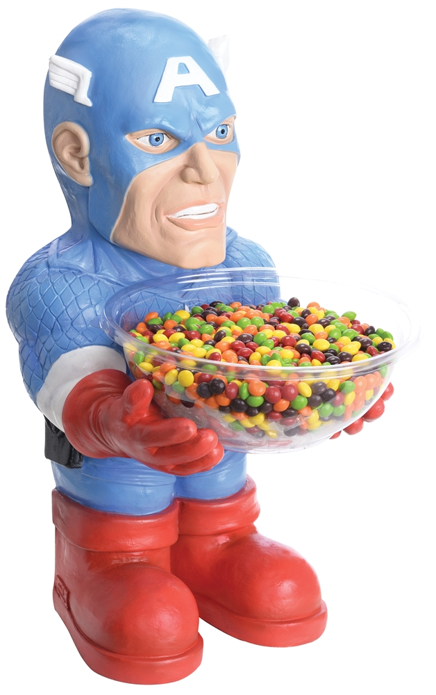 Captain America Candy Bowl Holder by Rubies