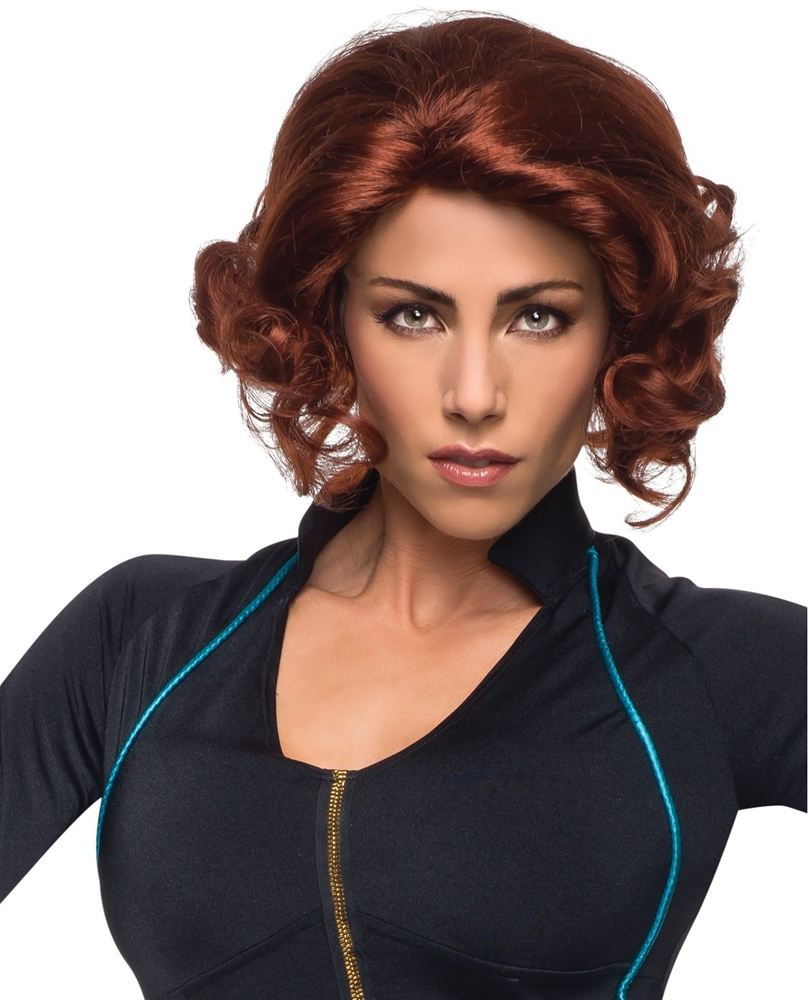 Avengers 2 Age of Ultron Black Widow Adult Wig 36258