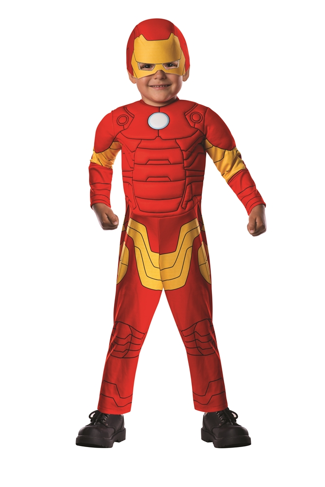 Avengers Assemble Iron Man Deluxe Toddler Costume