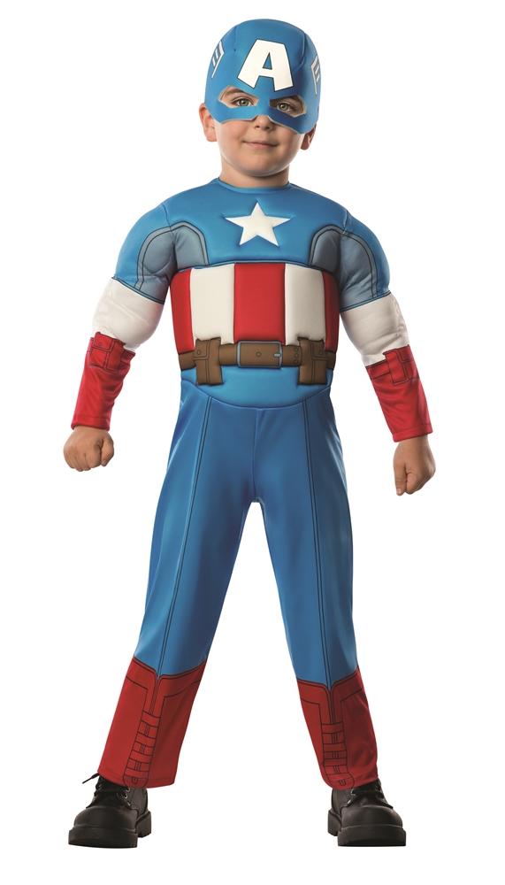 Avengers Assemble Captain America Toddler Costume 620018