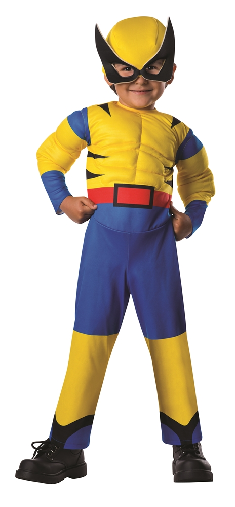 Wolverine Deluxe Toddler Costume