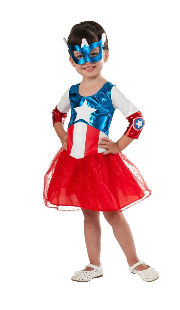American Dream Metallic Toddler Costume