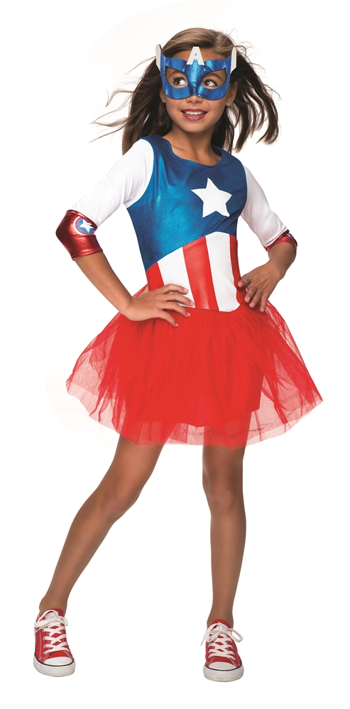 American Dream Metallic Child Costume