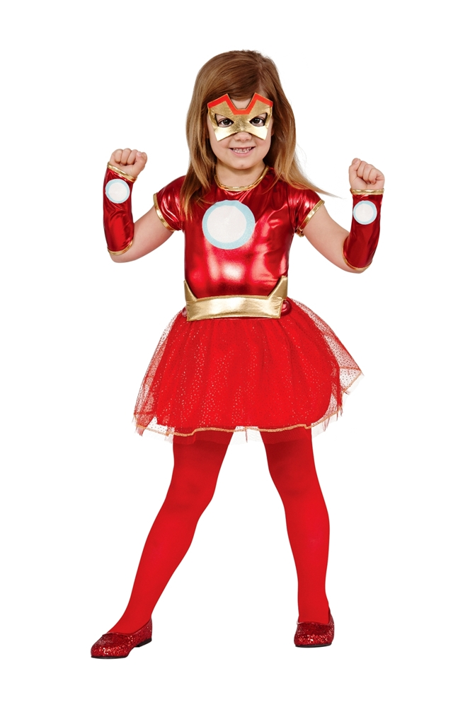Iron Girl Rescue Toddler Costume