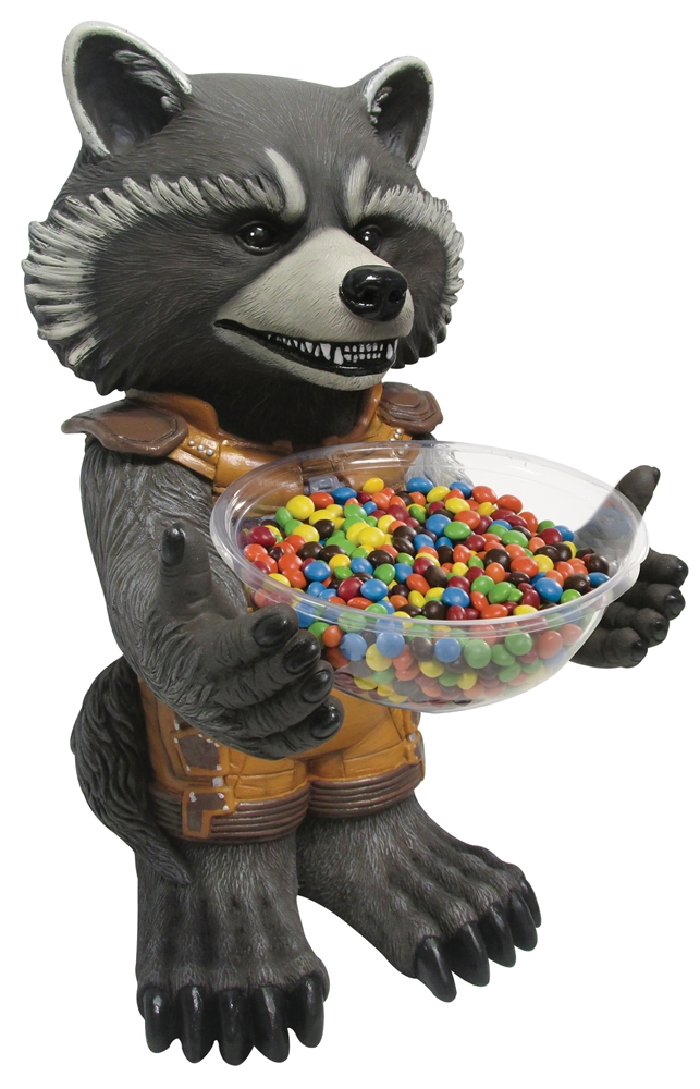Rocket Raccoon Candy Bowl Holder by Rubies