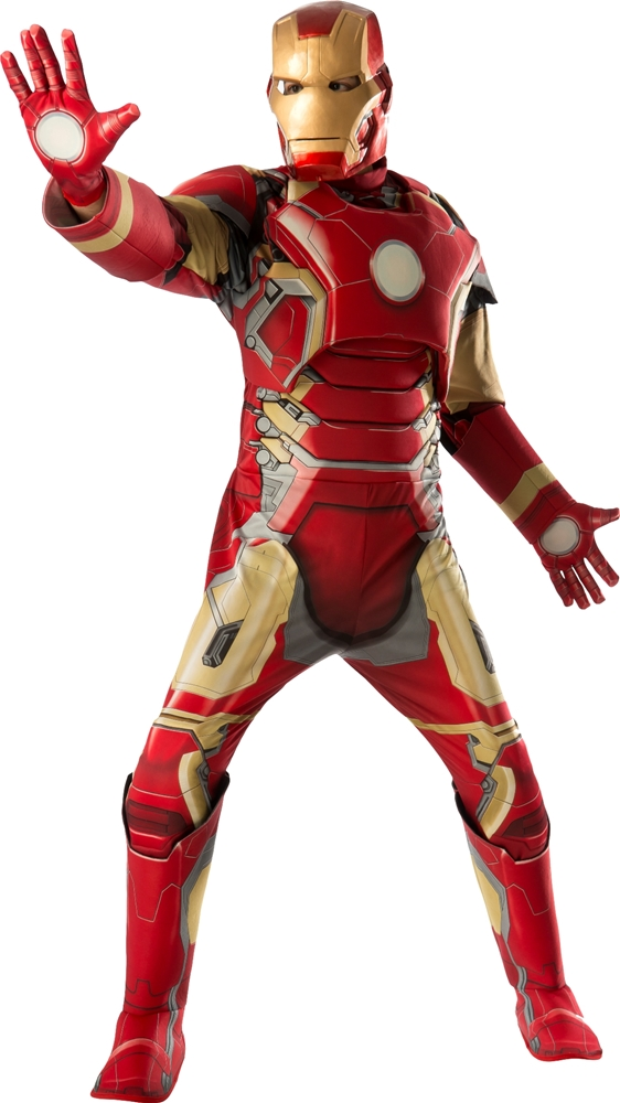 Avengers 2: Age of Ultron Deluxe Iron Man Mark 43 Adult Mens Costume