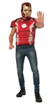Avengers-2-Age-of-Ultron-Iron-Man-Adult-Mens-Muscle-Shirt-Mask