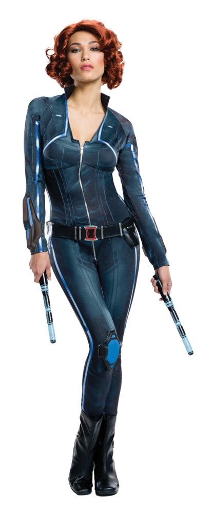Avengers 2: Age of Ultron Black Widow Adult Womens Costume (Black Widow Avengers Costume)