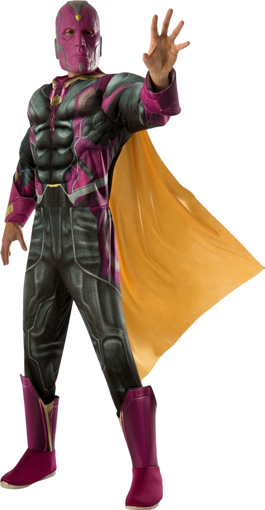 Avengers 2: Age of Ultron Deluxe Vision Adult Mens Costume