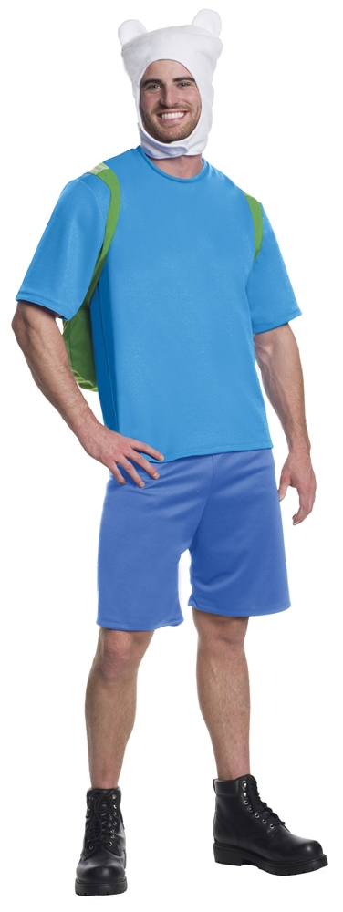 Adventure Time Deluxe Finn Adult Mens Costume