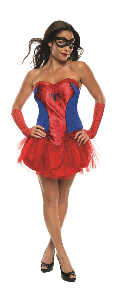 Spider-Girl Tutu Dress Adult Womens Costume