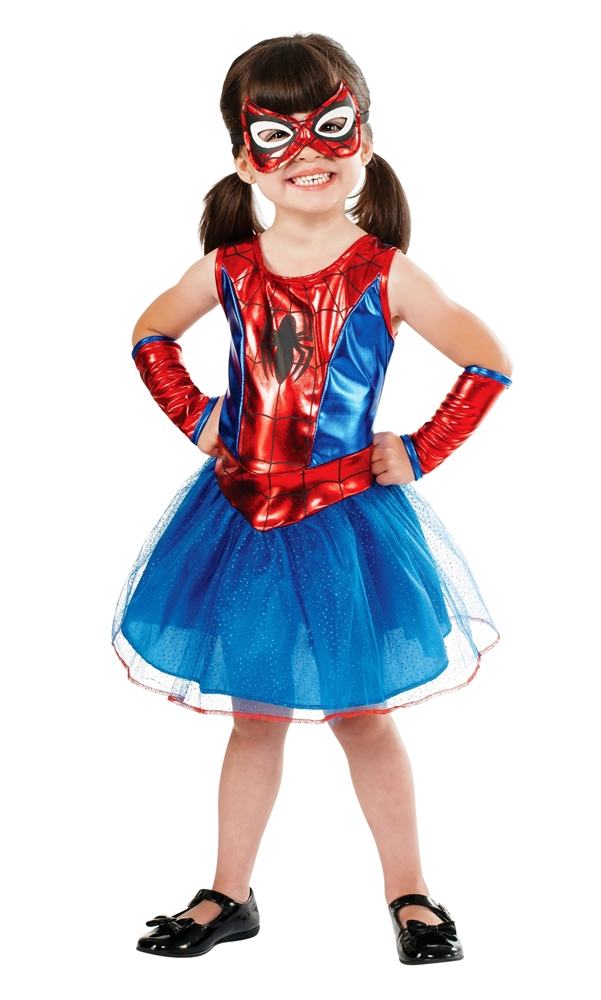 Spider-Girl Tutu Dress Toddler Costume