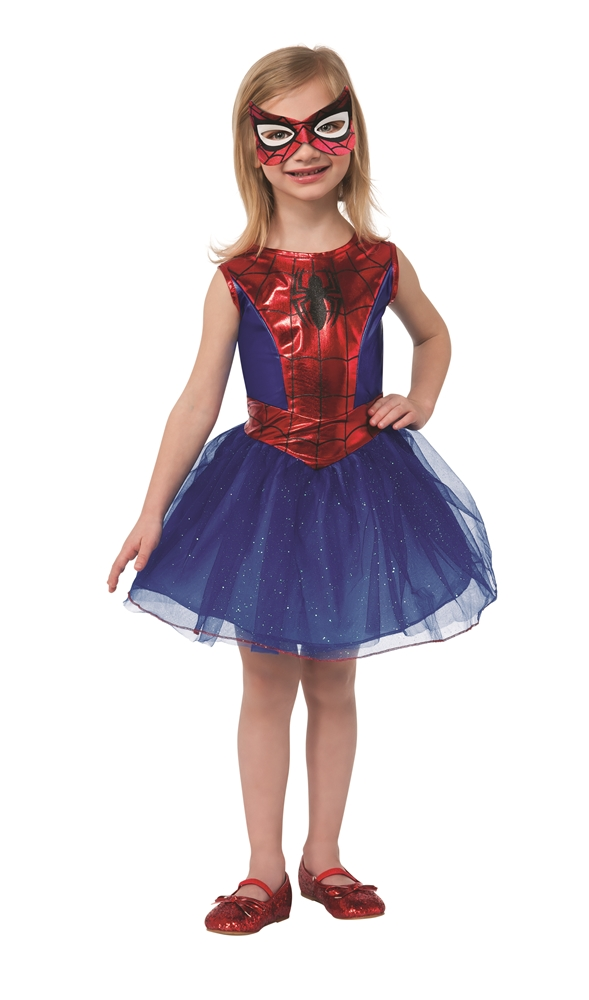 Spider-Girl Tutu Dress Child Costume