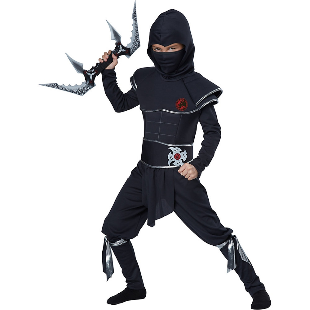 Ninja Warrior Child Costume by California Costumes  sc 1 st  Halloween Costumes : boys spartan costume  - Germanpascual.Com