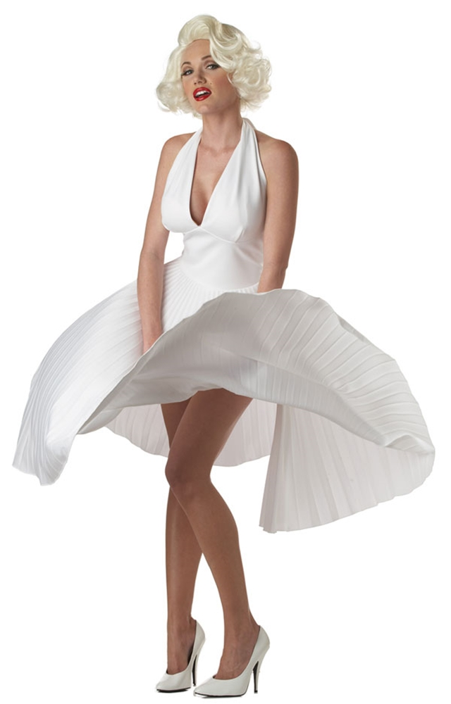 [Deluxe Marilyn Monroe Adult Womens Costume] (Marilyn Monroe Deluxe Adult Costumes)