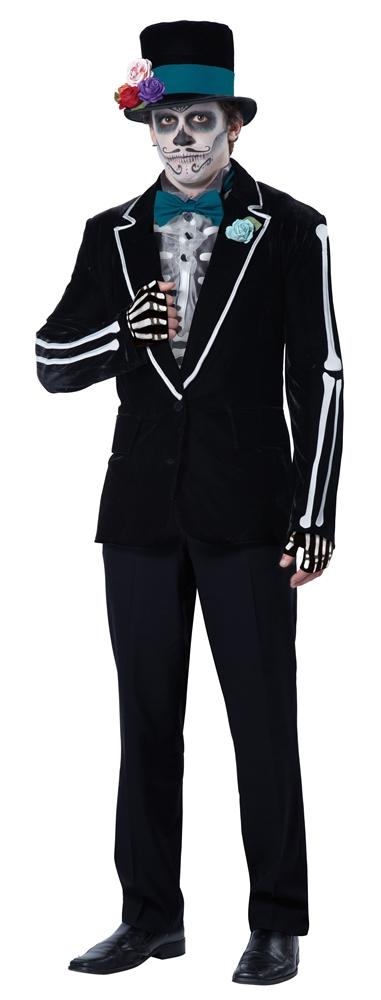 El Novio Muerto Adult Mens Costume