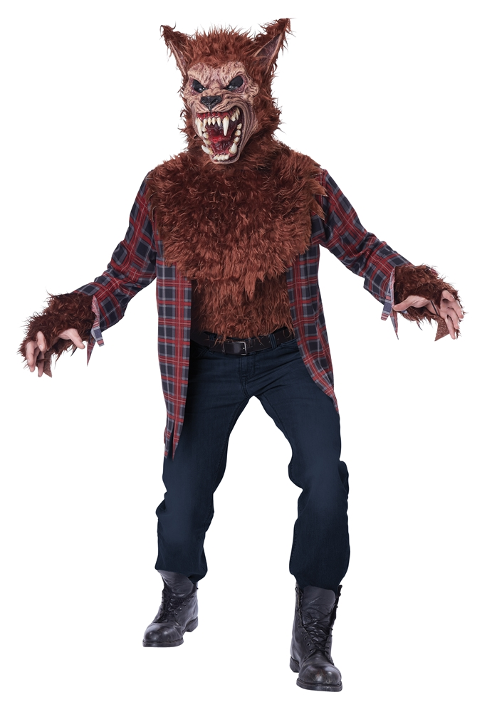 Blood Moon Wolf Adult Mens Costume