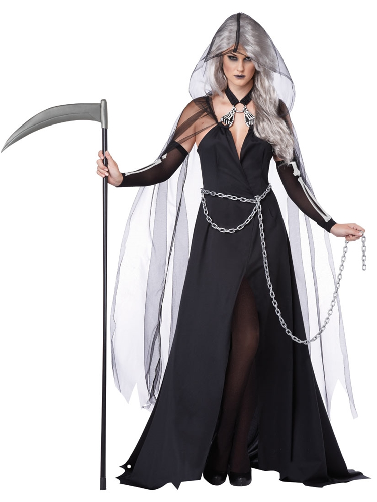 [Lady Reaper Adult Womens Costume] (Lady Reaper Costumes)
