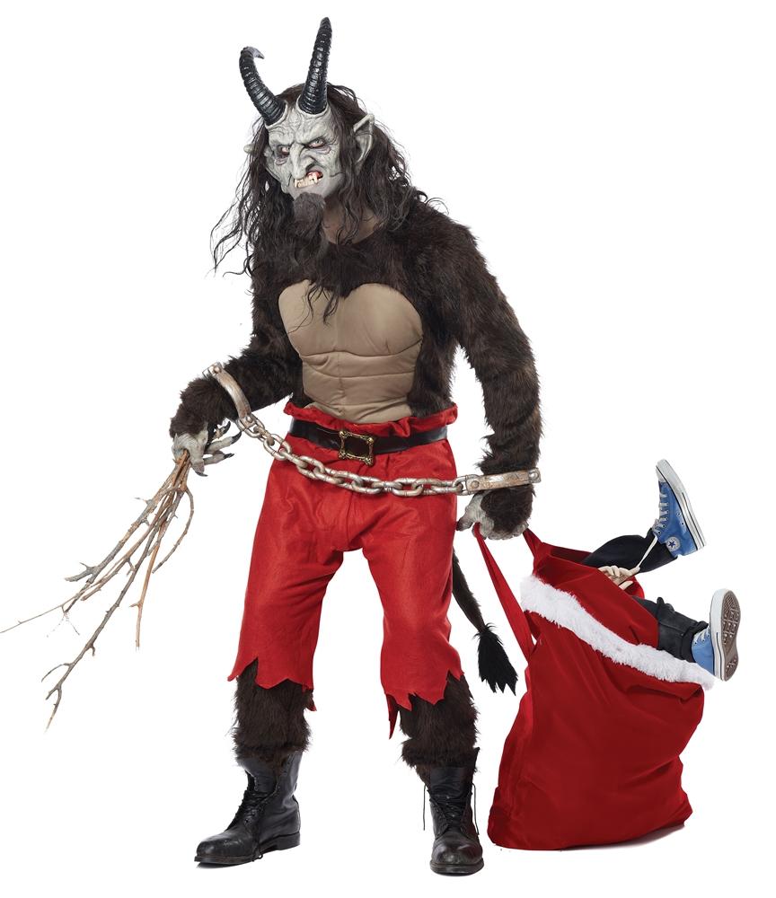 Krampus the Christmas Demon Adult Mens Costume