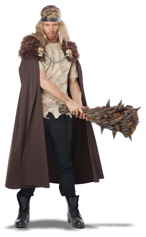Warlord Brown Cape by California Costumes