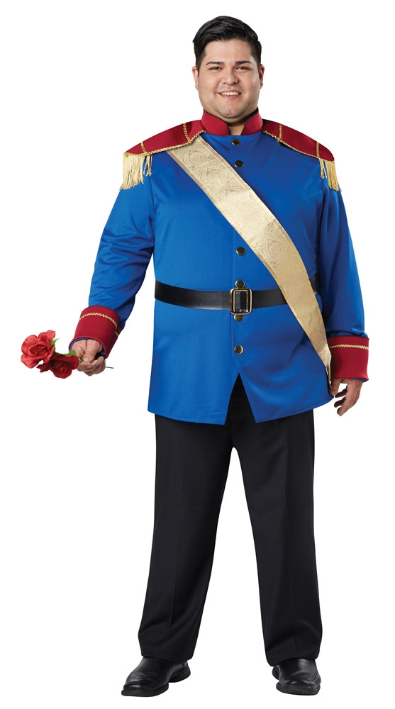 [Storybook Prince Adult Mens Plus Size Costume] (Storybook Prince Adult Mens Costumes)
