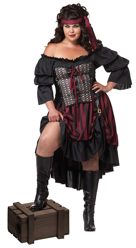 Pirate Wench Adult Womens Plus Size Costume