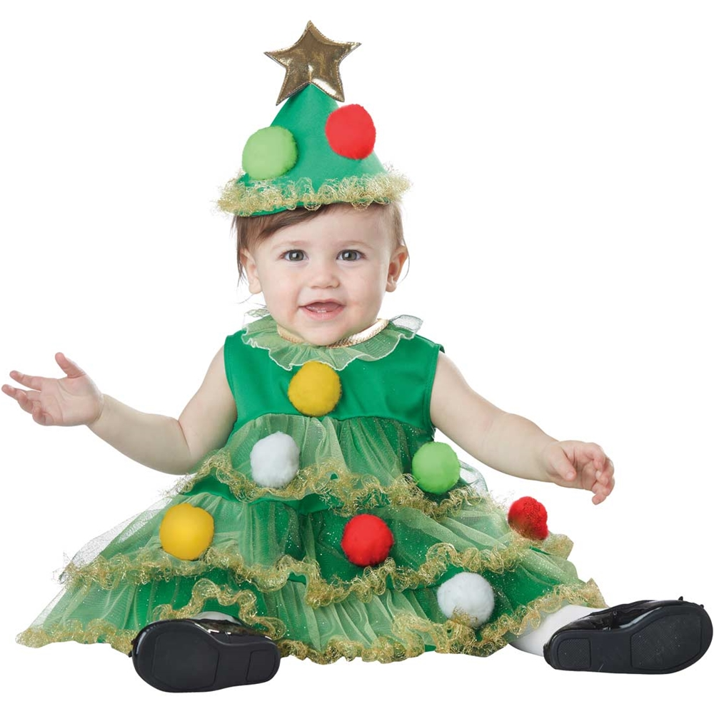 Lil' Christmas Tree Infant Costume by California Costumes