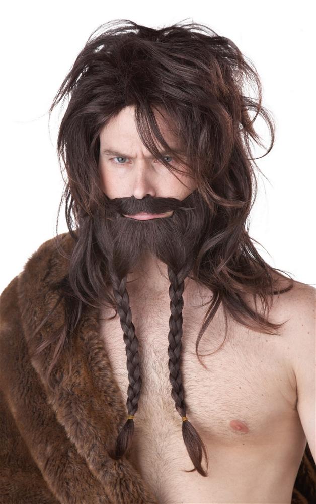 Viking Wig, Beard, and Moustache Set