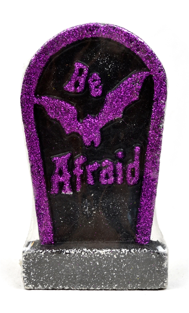 Mini Glitter Tombstone 6.5in (More Colors)