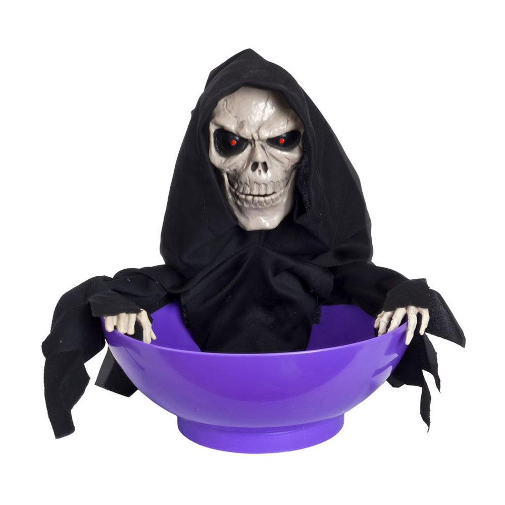 Electronic Skull Candy Bowl