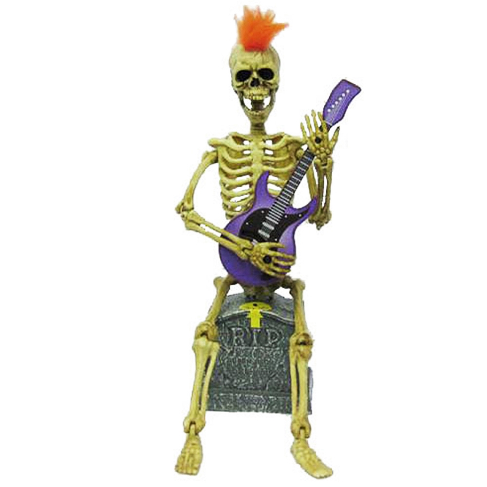 Animated Skeleton Rockstar 11.5in