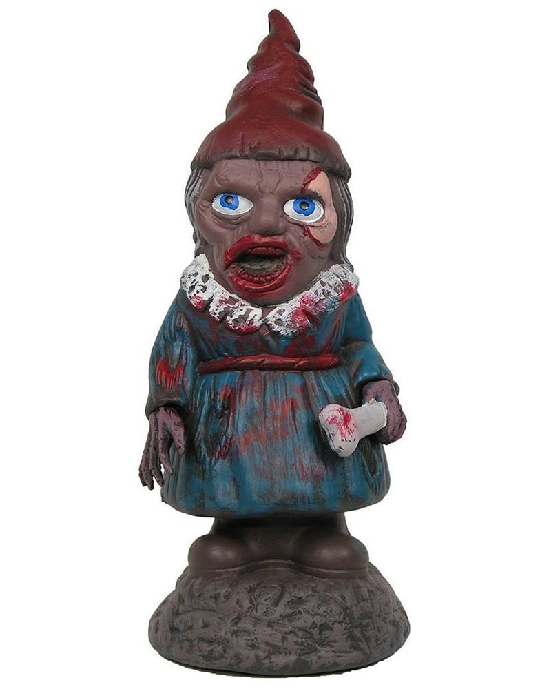 Female Garden Gnomes: Zombiefied Female Garden Gnome Prop
