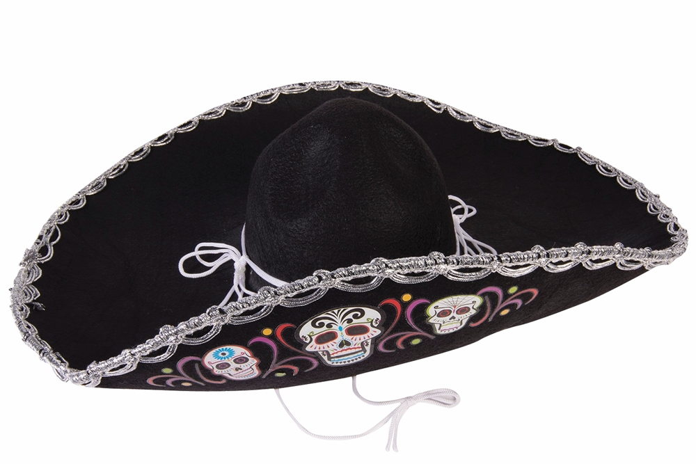 Day of the Dead Deluxe Sombrero