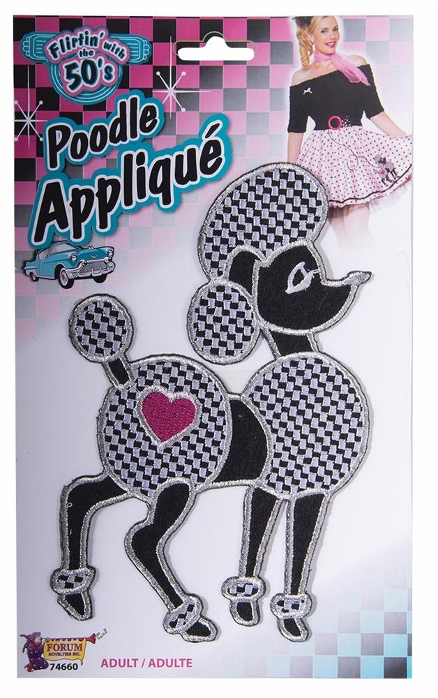 50s Poodle Applique by Forum Novelties