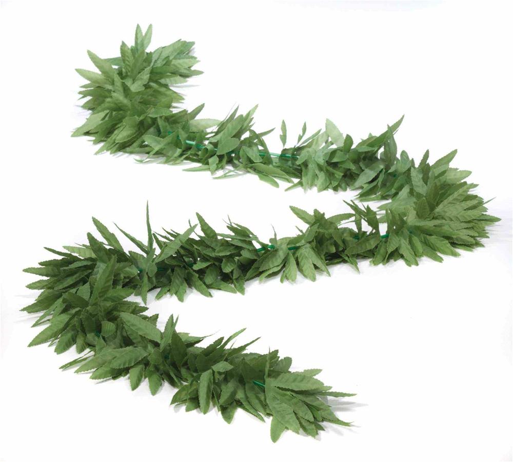 Green Leaf Long Boa by Forum Novelties