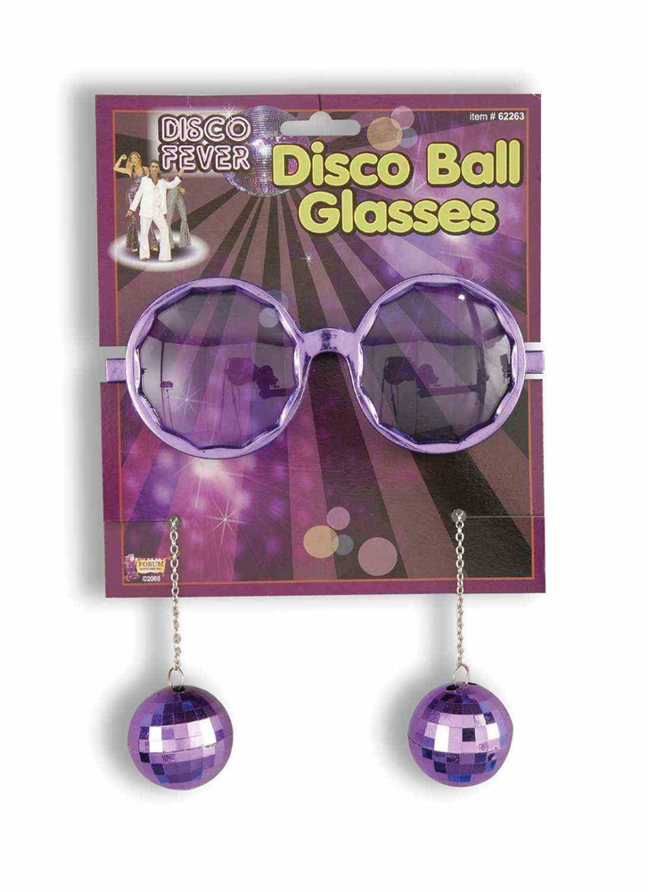 Disco Ball Tinted Glasses by Forum Novelties