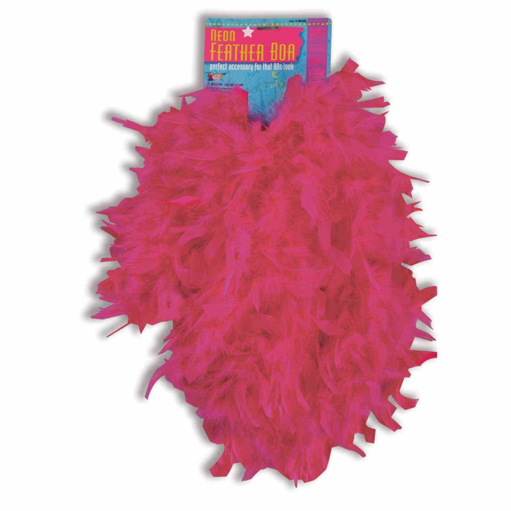 Neon Feather Boa (More Colors)
