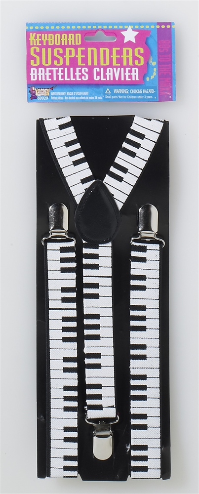 80s Keyboard Suspenders