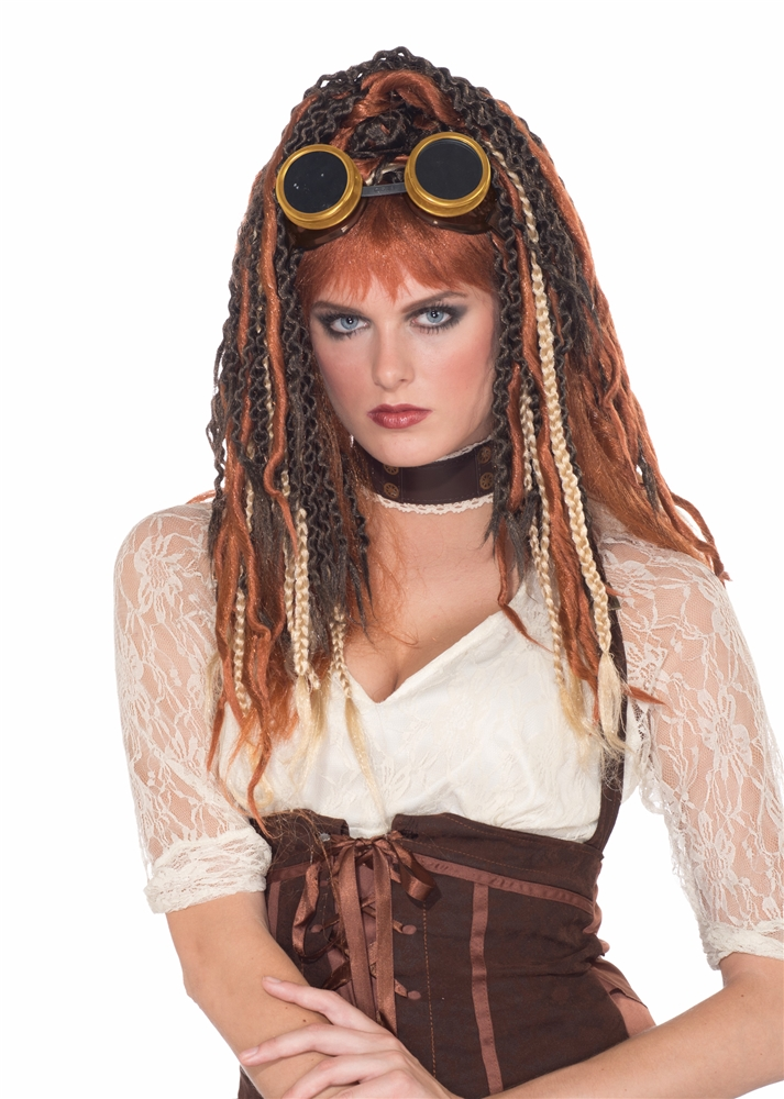 Steampunk Havoc Dreadlock Wig