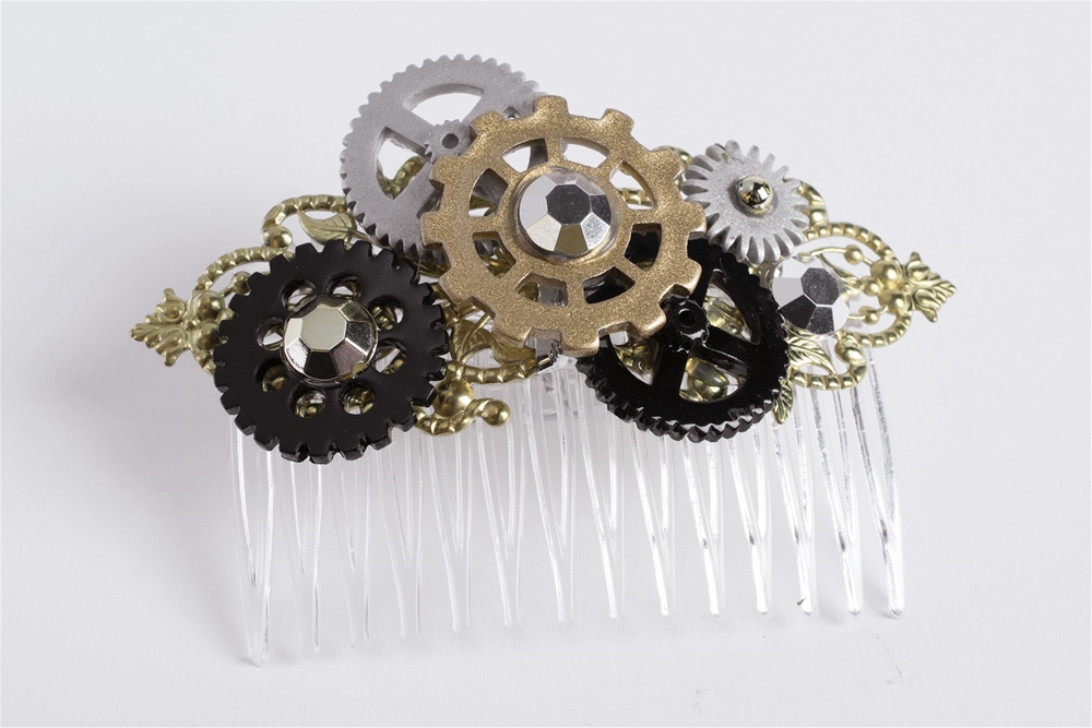 Steampunk Hair Comb