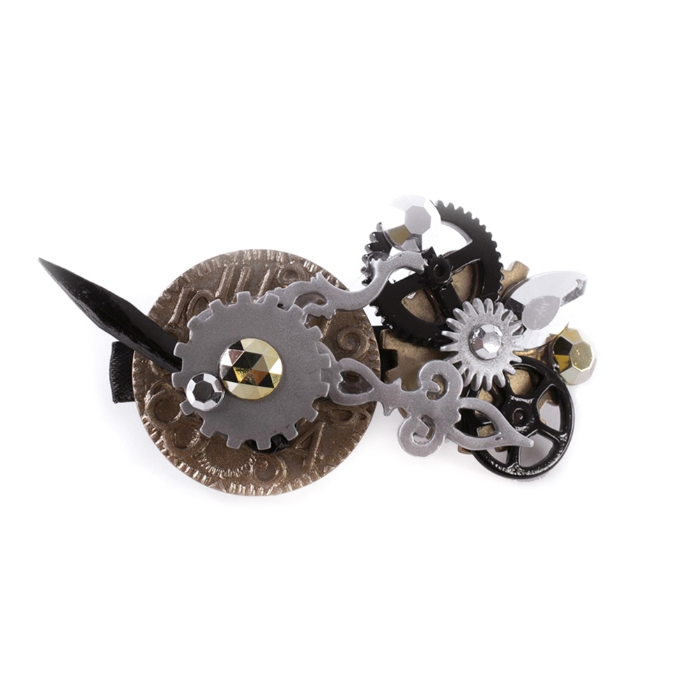 Steampunk Hair Barrette