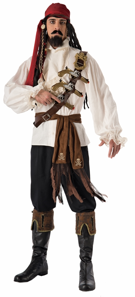 Pirate Shoulder Belt & Gun Set