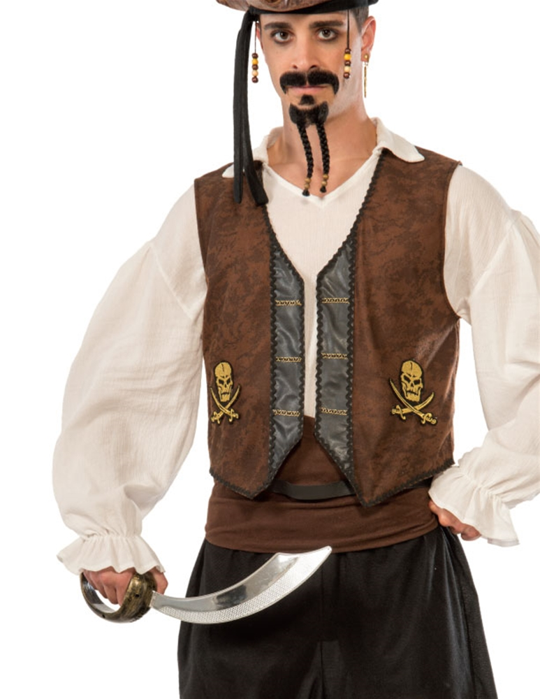 Buccaneer Adult Mens Vest by Forum Novelties