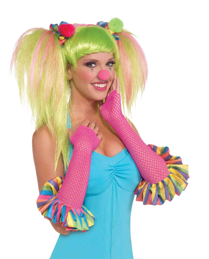 Circus Sweetie Fishnet Gloves by Forum Novelties