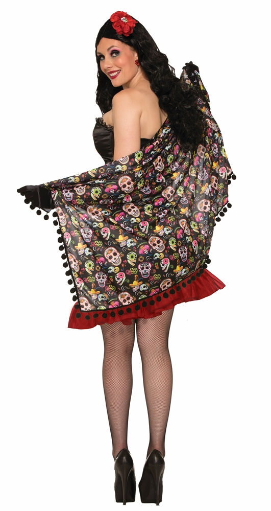 Day of the Dead Shawl