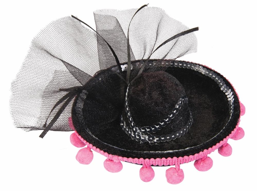 Day of the Dead Mini Sombrero