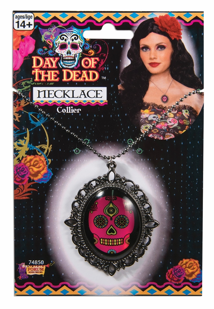 Day of the Dead Necklace by Forum Novelties