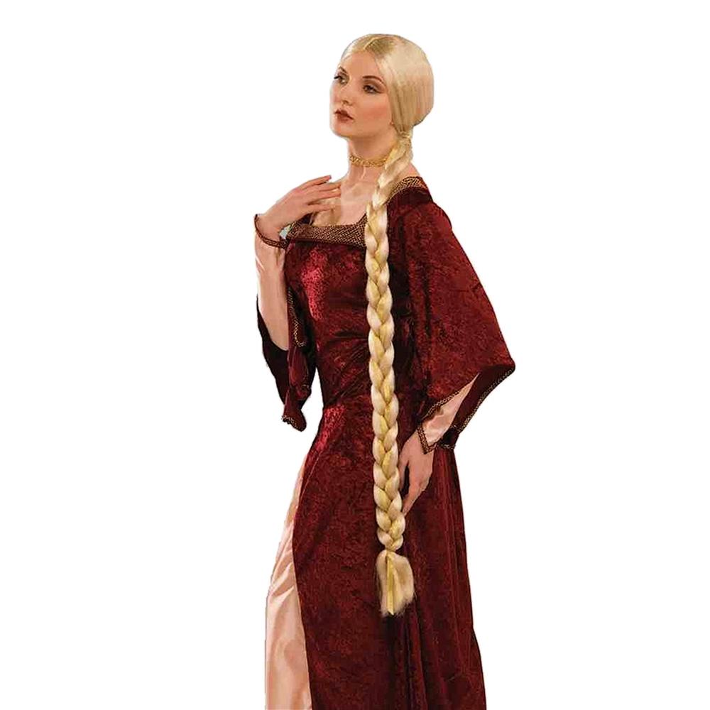 Long Braided Princess Wig