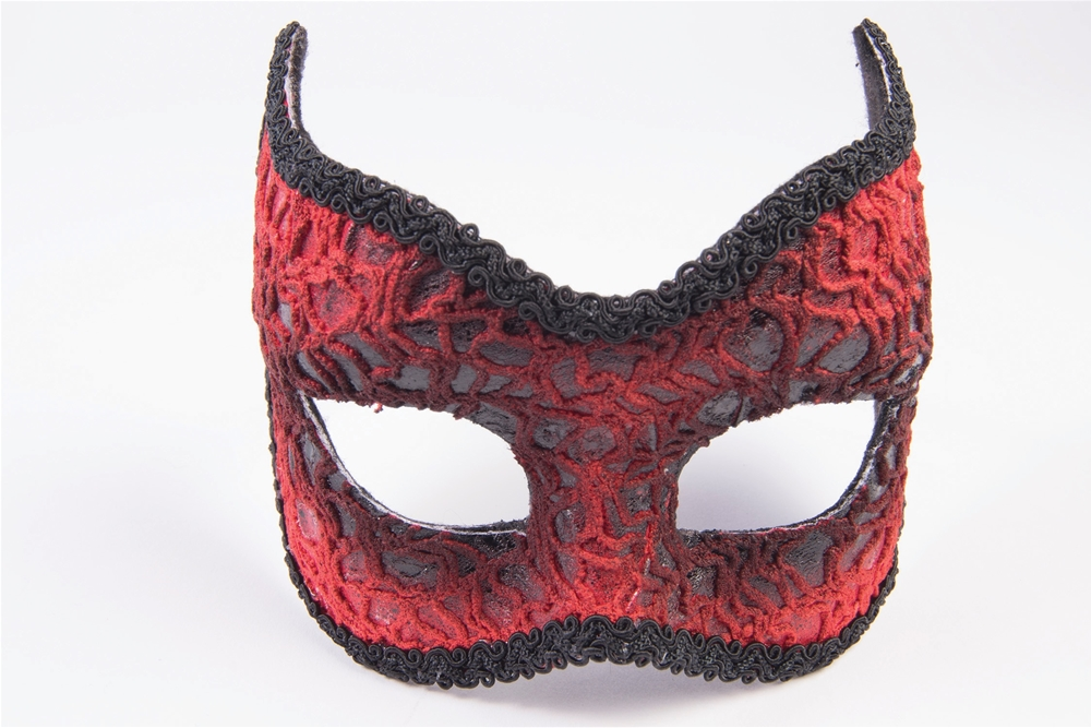 Red Devil Lace Mask by Forum Novelties